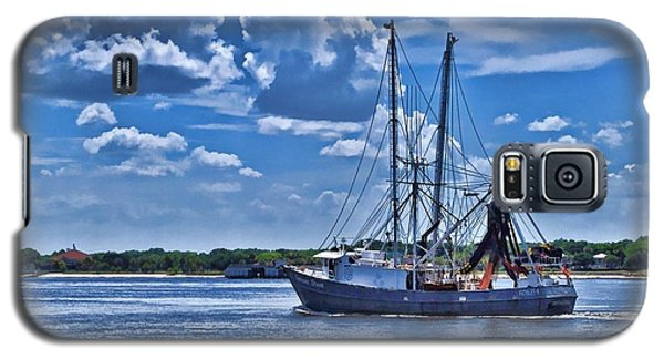 Shrimp Boat Heading To Sea Galaxy S5 Case
