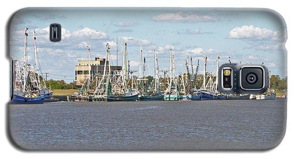Shrimp Boats 2 Port Arthur Texas Galaxy S5 Case by D Wallace