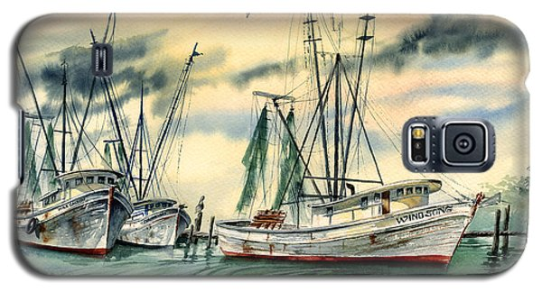 Shrimp Boats In The Keys Galaxy S5 Case