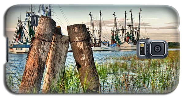 Shrimp Dock Pilings Galaxy S5 Case