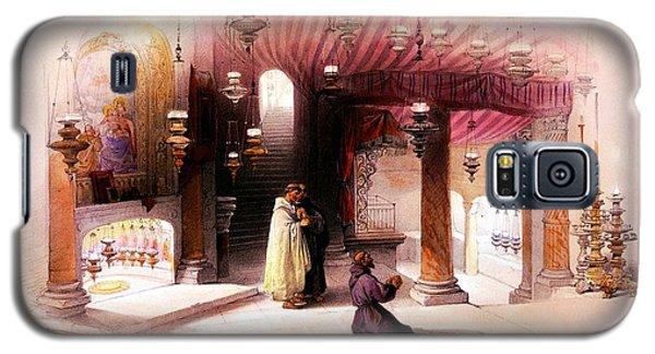 Shrine Of The Nativity Bethlehem April 6th 1839 Galaxy S5 Case