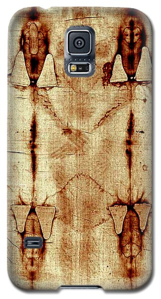 Galaxy S5 Case featuring the digital art Shroud Of Turin by A Samuel