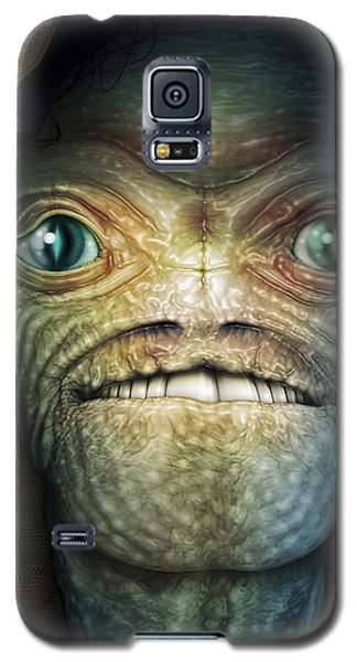 Shrouded Alien Galaxy S5 Case