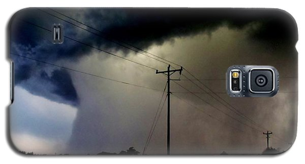 Galaxy S5 Case featuring the photograph Shrouded Tornado by Ed Sweeney