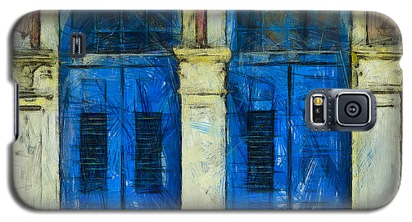Shutter Doors In Lil India Galaxy S5 Case by Joseph Hollingsworth