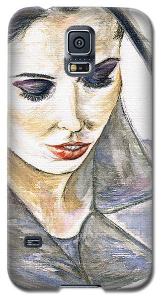 Shy Lady Galaxy S5 Case by Teresa White