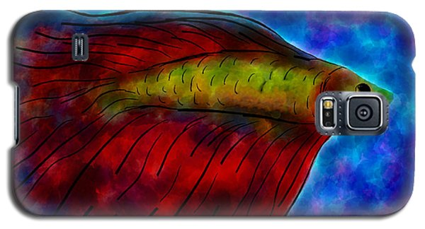 Siamese Fighting Fish II Galaxy S5 Case