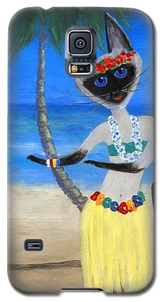 Siamese Queen Of Hawaii Galaxy S5 Case