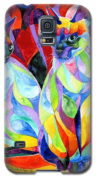Siamese Sweethearts Galaxy S5 Case