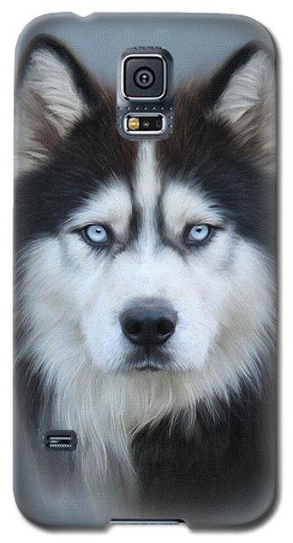Siberian Husky Galaxy S5 Case by Lena Auxier