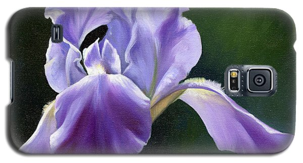 Galaxy S5 Case featuring the painting Siberian Iris by Alecia Underhill