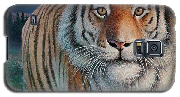 Zoofari Poster The Siberian Tiger Galaxy S5 Case