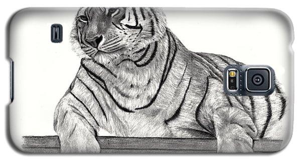 Siberian Tiger Galaxy S5 Case by Patricia Hiltz