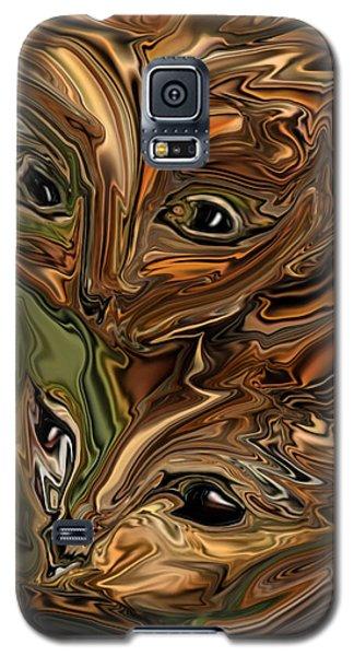Sibling  Galaxy S5 Case by Rabi Khan