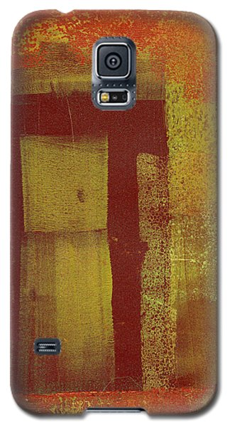 Galaxy S5 Case featuring the painting Side Door by Buck Buchheister