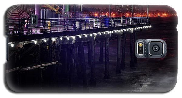 Side Of The Pier - Santa Monica Galaxy S5 Case