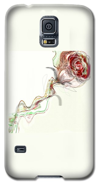 Side Rose Galaxy S5 Case