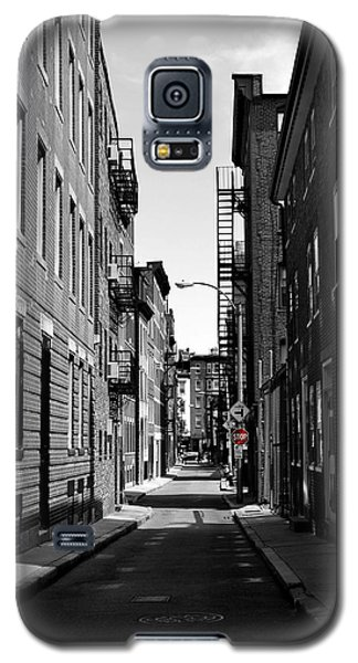 Galaxy S5 Case featuring the photograph Side Street On The North End by Nadalyn Larsen