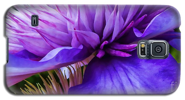 Side View Clematis Galaxy S5 Case