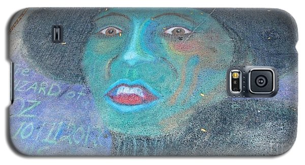 Galaxy S5 Case featuring the photograph Sidewalk Halloween Contest by Janette Boyd