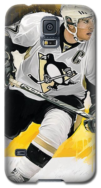 Sidney Crosby Artwork Galaxy S5 Case