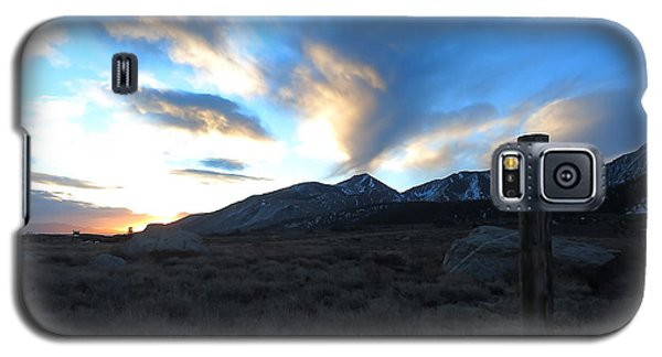 Sierra Sunrise Galaxy S5 Case by Paul Foutz