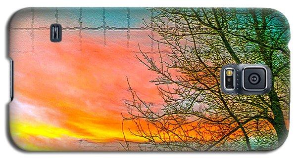Sierra Sunset Cubed Galaxy S5 Case by Mayhem Mediums