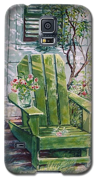 Galaxy S5 Case featuring the painting Siesta by Joy Nichols