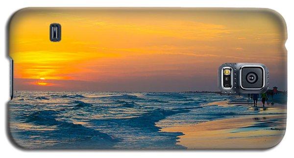 Siesta Key Sunset Walk Galaxy S5 Case