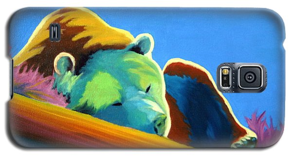 Galaxy S5 Case featuring the painting Siesta Time by Nancy Jolley