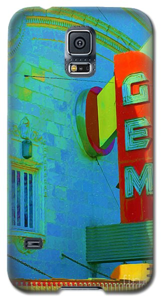 Sign - Gem Theater - Jazz District  Galaxy S5 Case