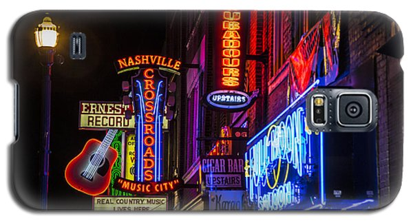 Signs Of Music Row Nashville Galaxy S5 Case