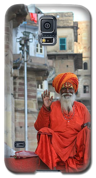 Indian Man Galaxy S5 Case by Amanda Stadther