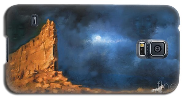 Silence Of The Night Galaxy S5 Case