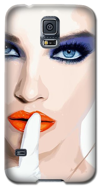 Silence - Pretty Faces Series Galaxy S5 Case