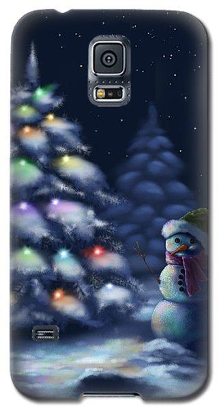 Silent Night Galaxy S5 Case by Veronica Minozzi