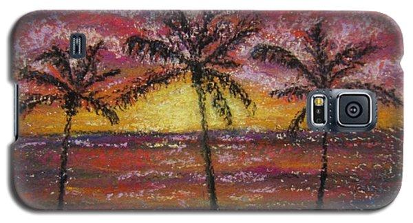 Island Silhouette  Galaxy S5 Case