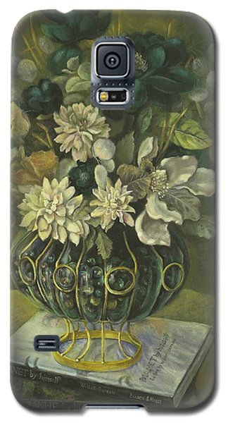 Silk Floral Arrangement Galaxy S5 Case