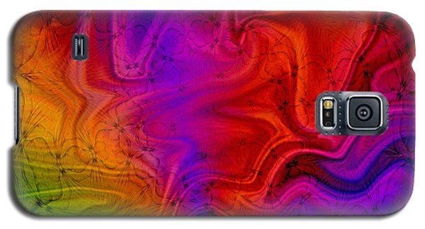 Galaxy S5 Case featuring the photograph Silk by Geraldine DeBoer