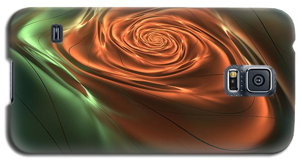 Silk Rose Galaxy S5 Case