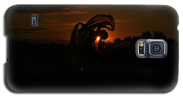 Silk Sunset Galaxy S5 Case