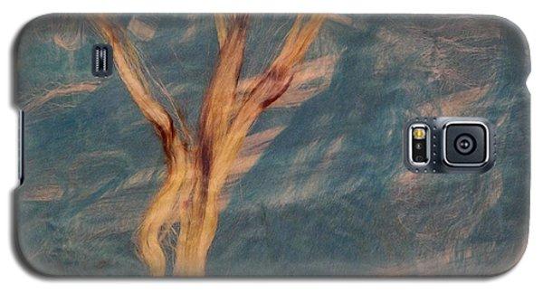 Galaxy S5 Case featuring the digital art Silk Trees by Aliceann Carlton