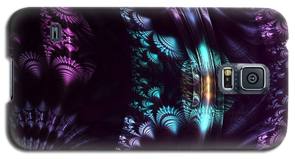 Silken Patterns Galaxy S5 Case by Linda Whiteside