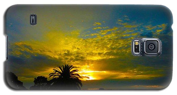 Silken Sunset Galaxy S5 Case by Mark Blauhoefer