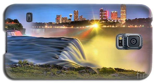 Silky Niagara Falls Panoramic Sunset Galaxy S5 Case