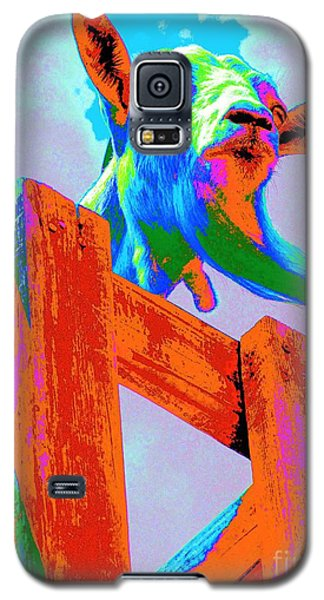 Silly Billy In Many Colors Photo Impressionism Galaxy S5 Case by Annie Zeno