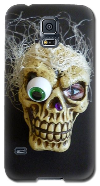Silly Skull Galaxy S5 Case by Douglas Fromm