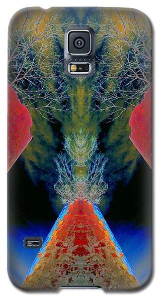 Silo Sky Galaxy S5 Case by Karen Newell