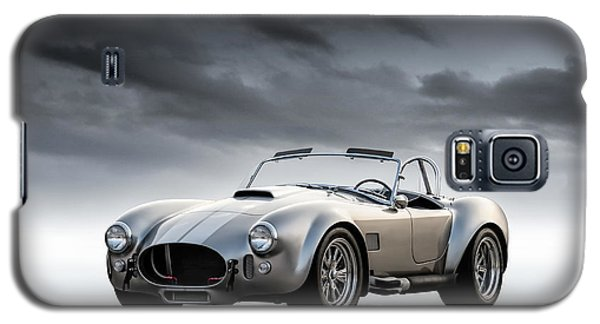 Galaxy S5 Case featuring the digital art Silver Ac Cobra by Douglas Pittman