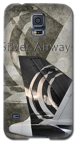 Silver Airways Tail Logo Galaxy S5 Case
